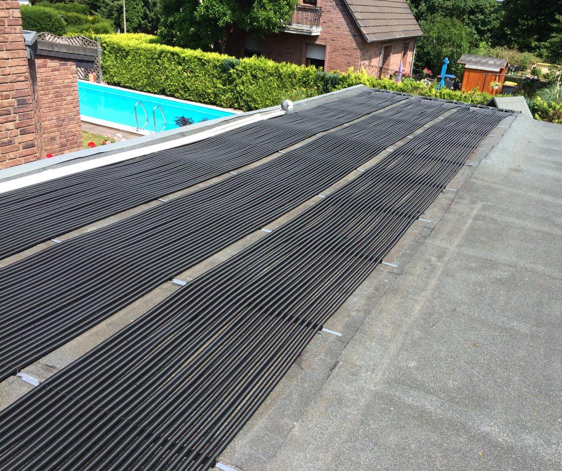 Beschreibung azda rippenrohrabsorber mazda solar for Pool aus gummi